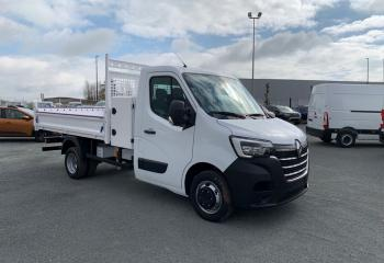 Renault Master-chassis-cabine à Niort : PROP R3500 L3 ENERGY DCI 145 CONFORT BENNE COFFRE